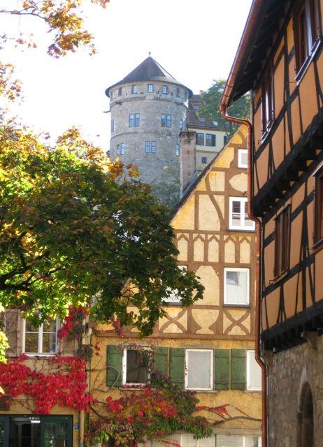Salzstadel mit Schloss