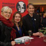 Andrea Bachmann, Colline Charli und Florian Bauer