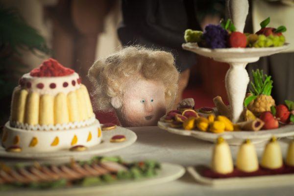 Ce magnifique gâteau !