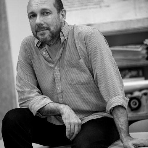 ©Gaël Dupret, France, Dreux le 19-06-2017 : Thierry Méranger  Photo : Thierry Méranger, professeur de cinéma au lycée Rotrou, fondateur du Festival du Film de Dreux